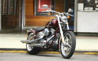 Harley Davidson FXCWC Rocker C Softail [4] wallpaper
