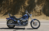 Harley Davidson Softail Custom FXSTC wallpaper 1920x1200 jpg
