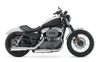 Harley Davidson Sportster XL1200N Nightster [2] wallpaper 1920x1200 jpg