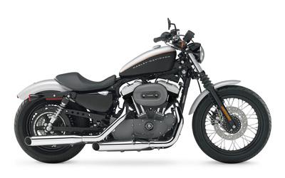 Harley Davidson Sportster XL1200N Nightster [2] wallpaper