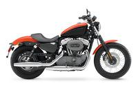 Harley Davidson Sportster XL1200N Nightster wallpaper 1920x1200 jpg