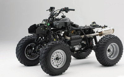 Honda ATV without body wallpaper