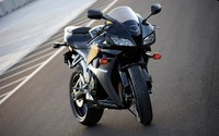 Honda CBR600RR front view on the road wallpaper 1920x1200 jpg