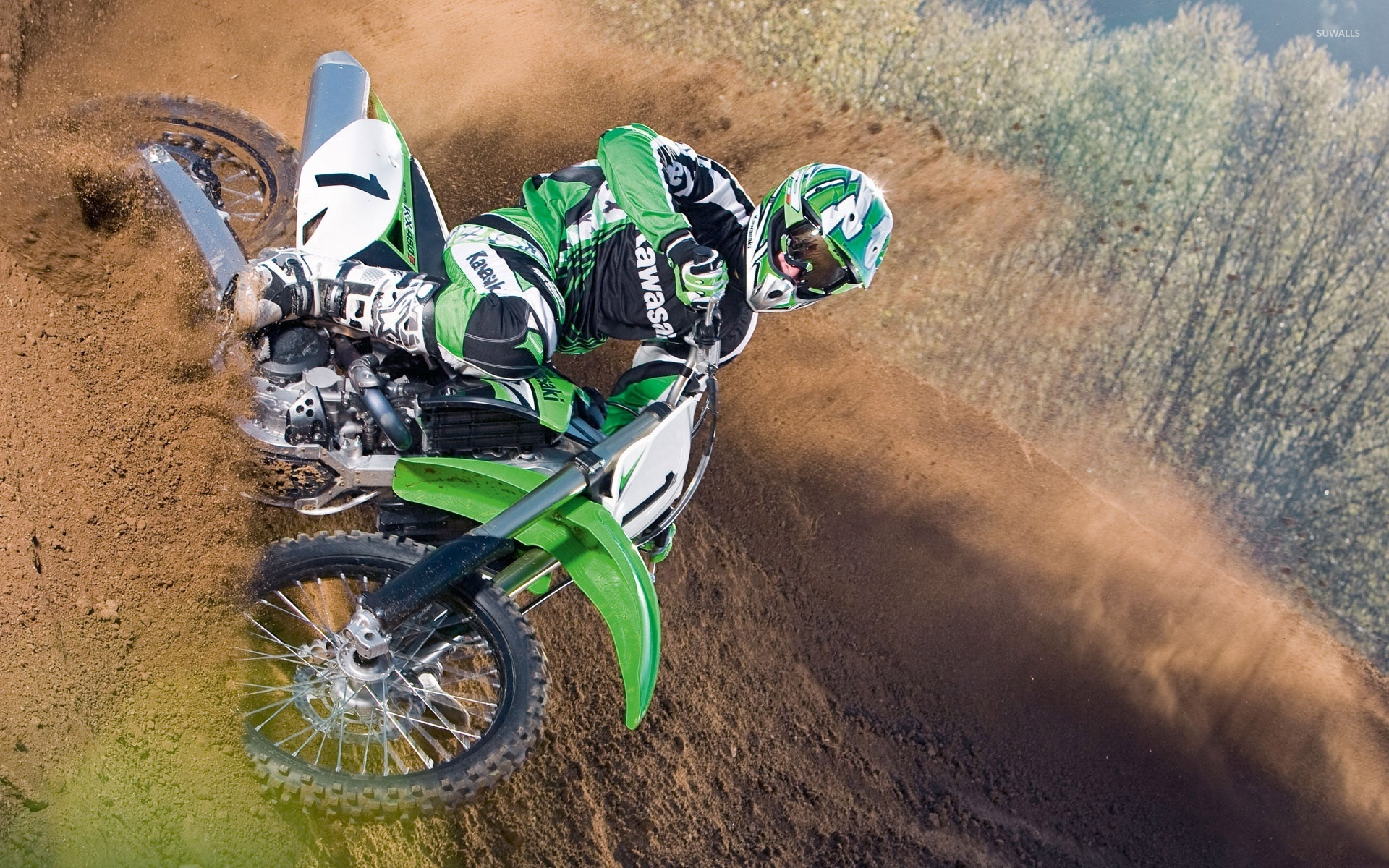 Kawasaki Kx450f 2 Wallpaper Motorcycle Wallpapers 24011