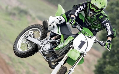Kawasaki KX85 wallpaper