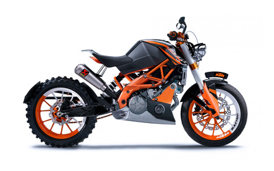 KTM Duke 125 wallpaper