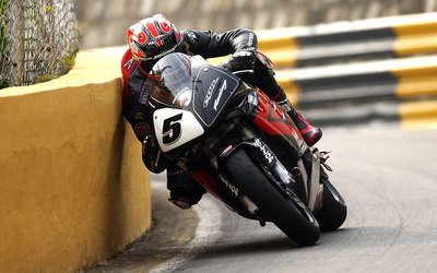 Macau Grand Prix - Honda CBR wallpaper