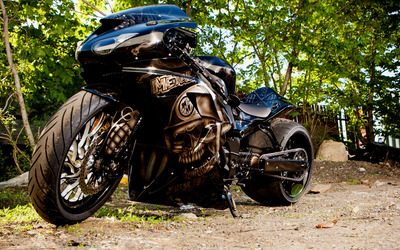 Motorcycle tuning wallpaper