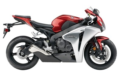 Red and silver Honda CBR1000RR wallpaper