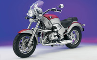 Red BMW R1200R side view wallpaper 1920x1200 jpg