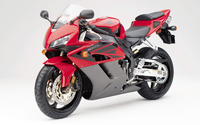 Red Honda CBR1000RR front side view wallpaper 1920x1200 jpg