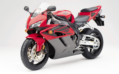 Red Honda CBR1000RR front side view wallpaper