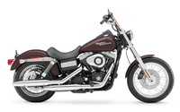 Side view of a 2006 Harley-Davidson Dyna wallpaper 1920x1200 jpg