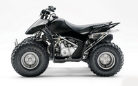 Side view of a black Honda ATV wallpaper 1920x1200 jpg