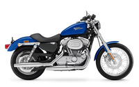 Side view of a blue Harley-Davidson wallpaper 1920x1200 jpg