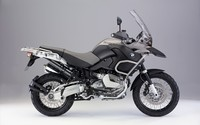 Side view of a BMW R1200GS wallpaper 1920x1200 jpg