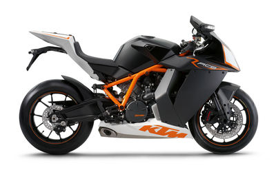 Side view of a KTM 1190 RC8 wallpaper