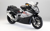 Silver BMW K1300S side view wallpaper 1920x1200 jpg