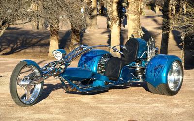 Trike motorbike wallpaper