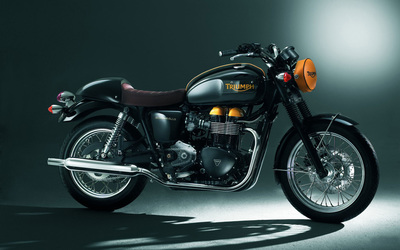 Triumph Boneville wallpaper