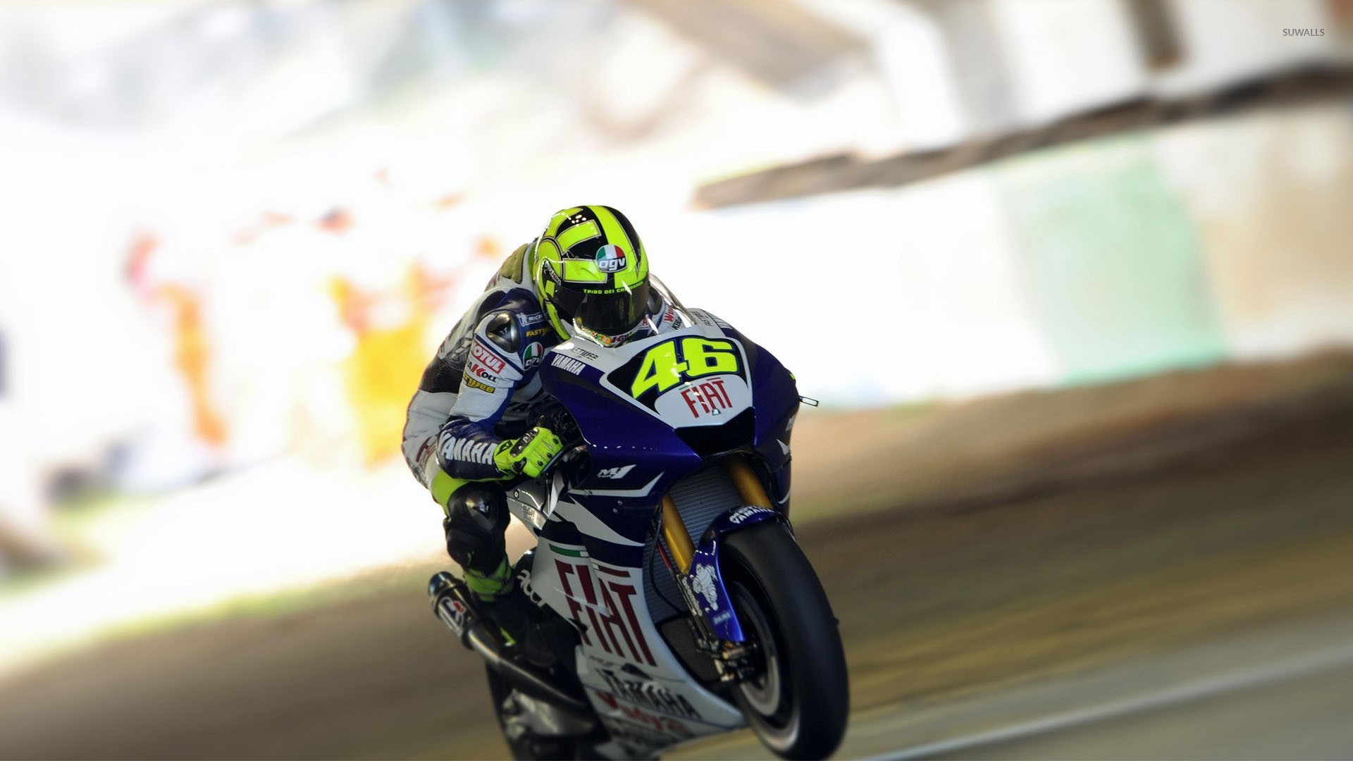 valentino rossi [8] wallpaper - motorcycle wallpapers - #29652