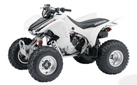 White 2008 Honda TRX300 wallpaper 1920x1200 jpg