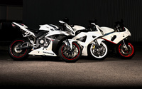 White Honda CBR series motorcycles wallpaper 1920x1080 jpg
