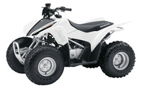 White Honda TRX90X front side view wallpaper 1920x1200 jpg