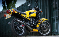 Yamaha RD350LC back side view wallpaper 1920x1200 jpg