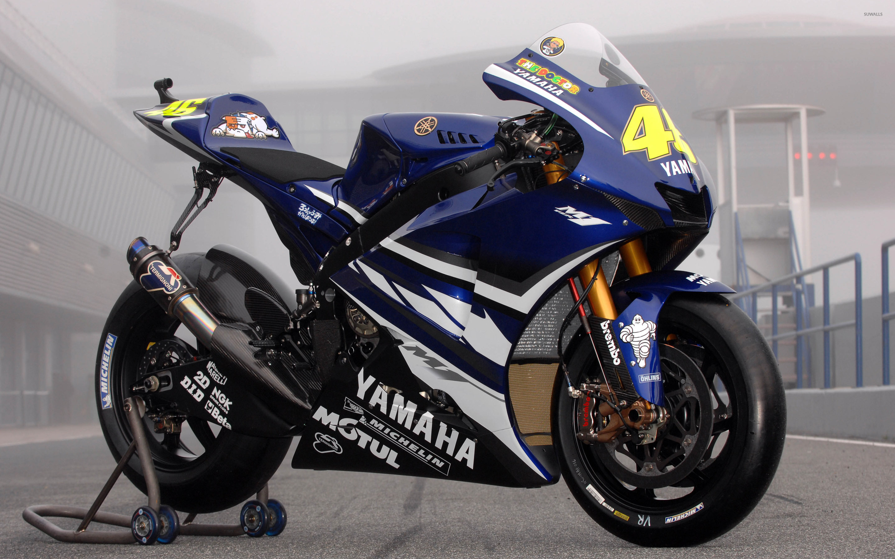 yamaha yzr-m1 wallpaper - motorcycle wallpapers - #30595