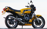 Yellow Yamaha RD350LC wallpaper 1920x1200 jpg
