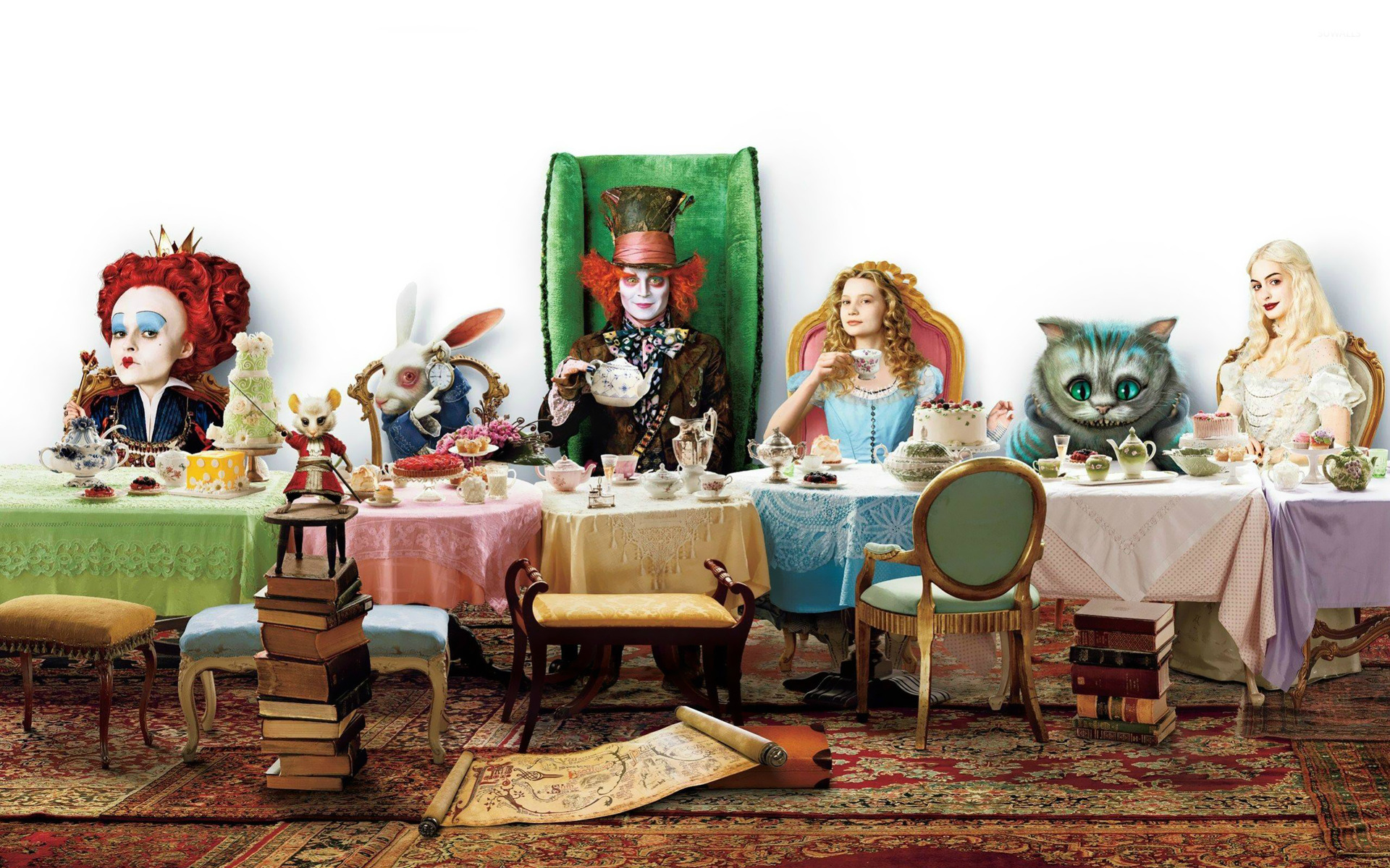alice in wonderland wallpaper - movie wallpapers - #15134