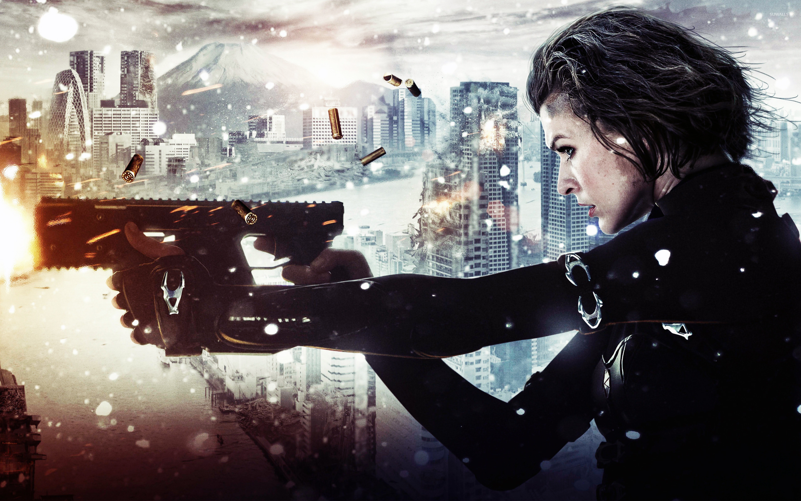 Alice Resident Evil Retribution Wallpaper Movie Wallpapers