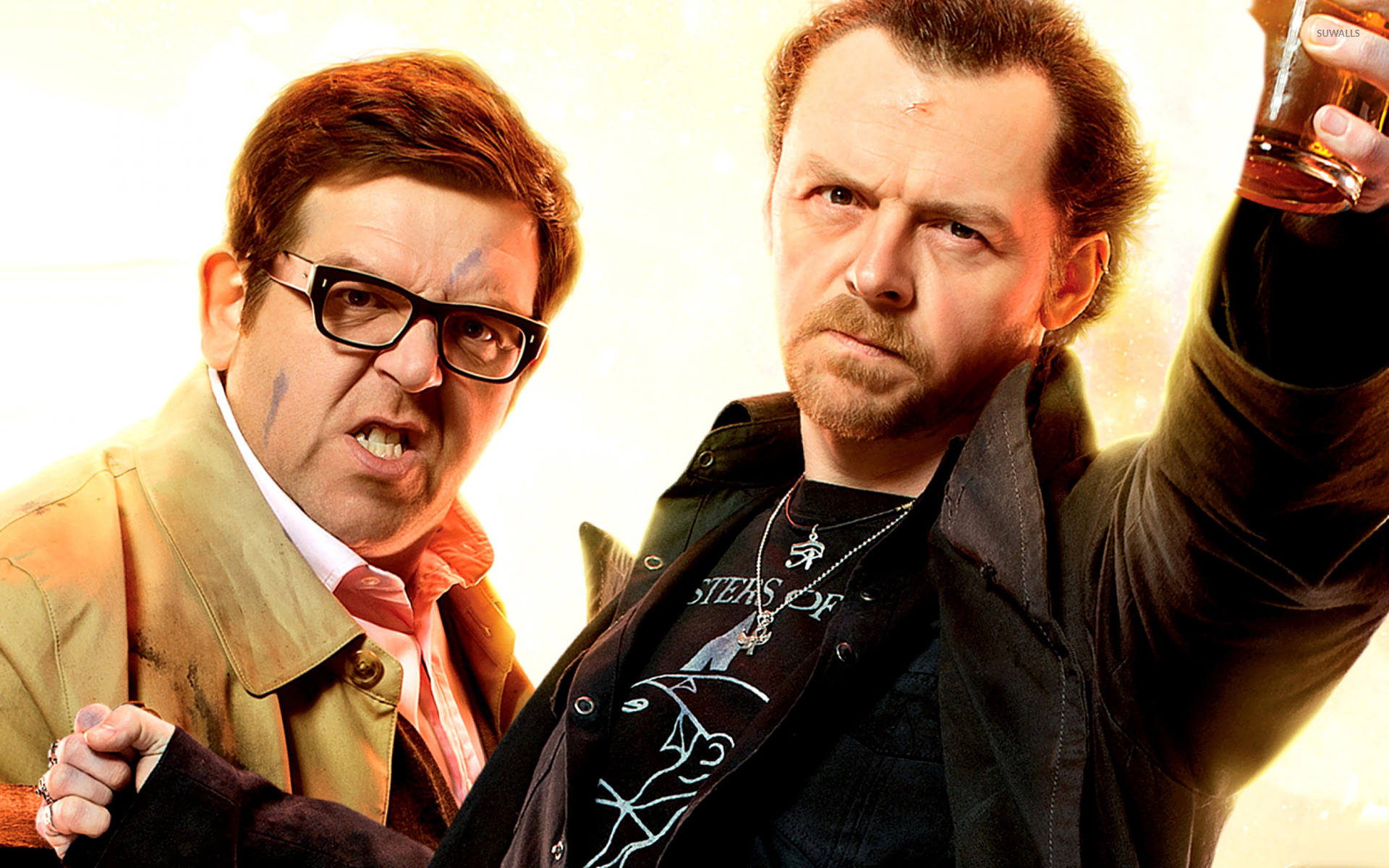 Andy Knightley And Gary King The Worlds End Wallpaper