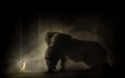 Annd Darrow and King Kong wallpaper