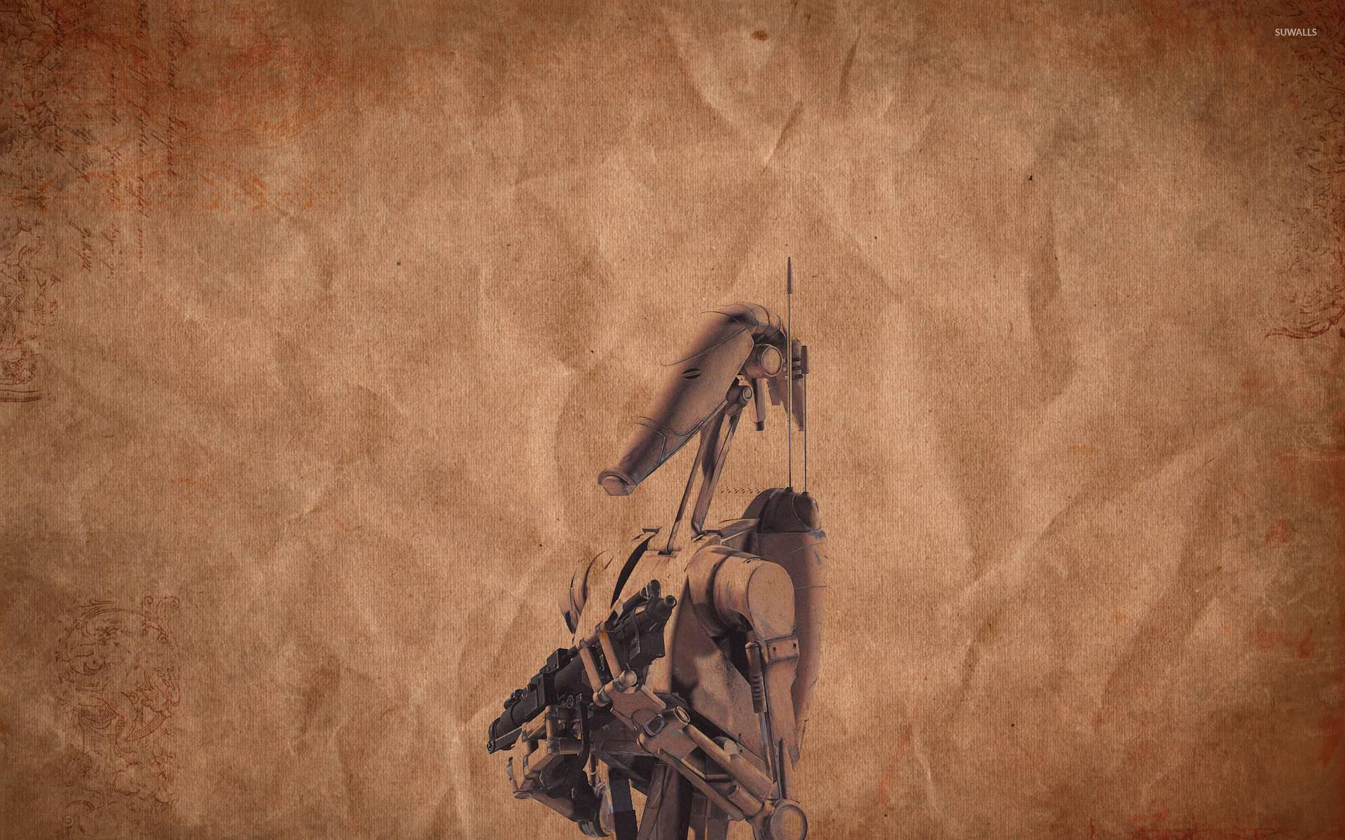 B1 battle droid wallpaper