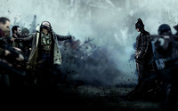 Bane and Batman - The Dark Knight Rises wallpaper 1920x1080 jpg
