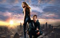 Beatrice Prior and Four - Divergent wallpaper 2880x1800 jpg