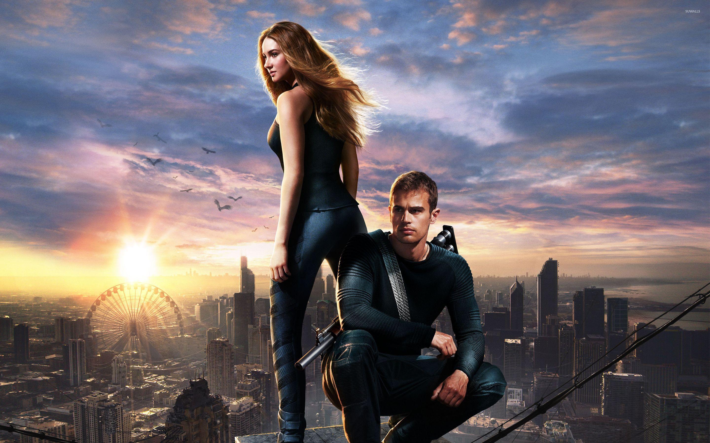 Beatrice Prior and Four - Divergent wallpaper - Movie ...