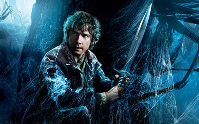 Bilbo- The Hobbit -The Desolation of Smaug wallpaper