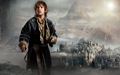 Bilbo - The Hobbit: The Desolation of Smaug wallpaper