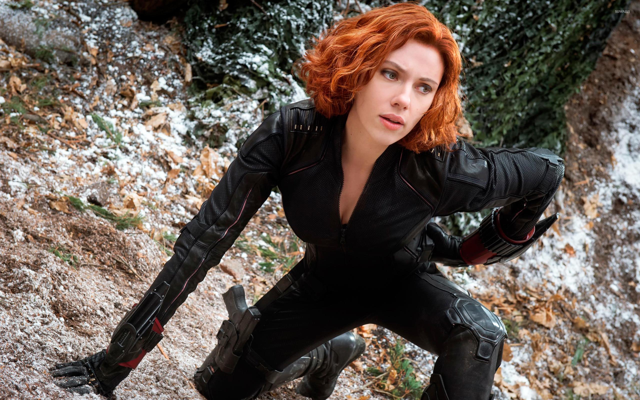 Black Widow Avengers Age Of Ultron Wallpaper Movie Wallpapers