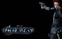 Black Widow - The Avengers wallpaper 2560x1600 jpg