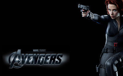 Black Widow - The Avengers wallpaper