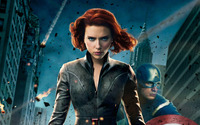 Black Widow - The Avengers [2] wallpaper 1920x1200 jpg