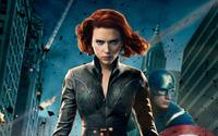 Black Widow - The Avengers [2] wallpaper 1920x1200 jpg
