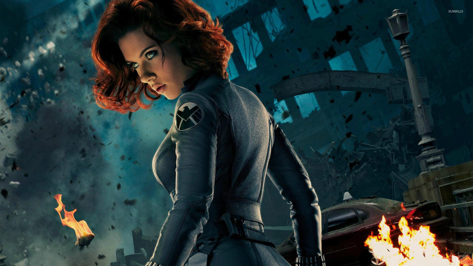 Black Widow - The Avengers [3] wallpaper - Movie wallpapers