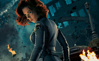 Black Widow - The Avengers [3] wallpaper 1920x1080 jpg