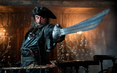 Blackbeard - Pirates of the Caribbean - On Stranger Tides wallpaper