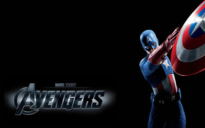 Captain America - The Avengers wallpaper
